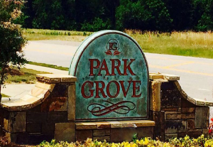 Park Grove Sign pic