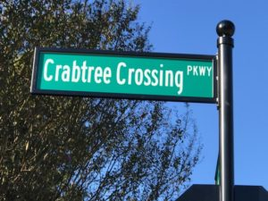 New Preston Communities Street Sign